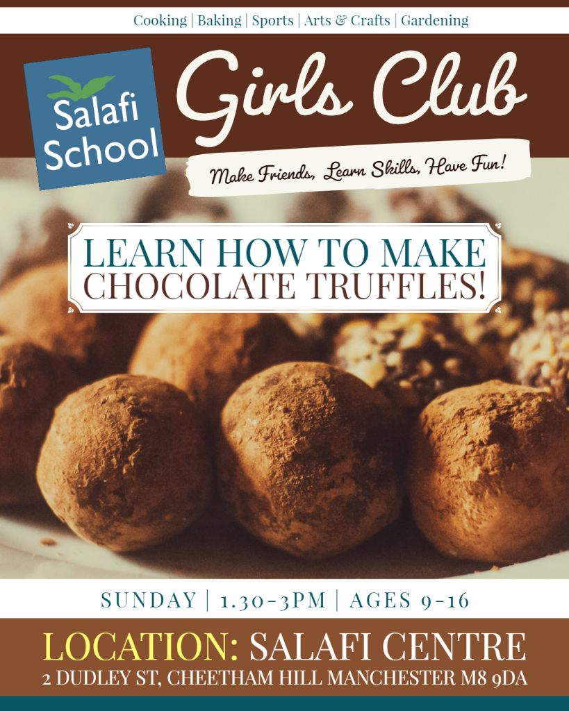 📣 Announcing the Return of Girls' Club! Resuming this Sunday with a Fun Activity! 🎊