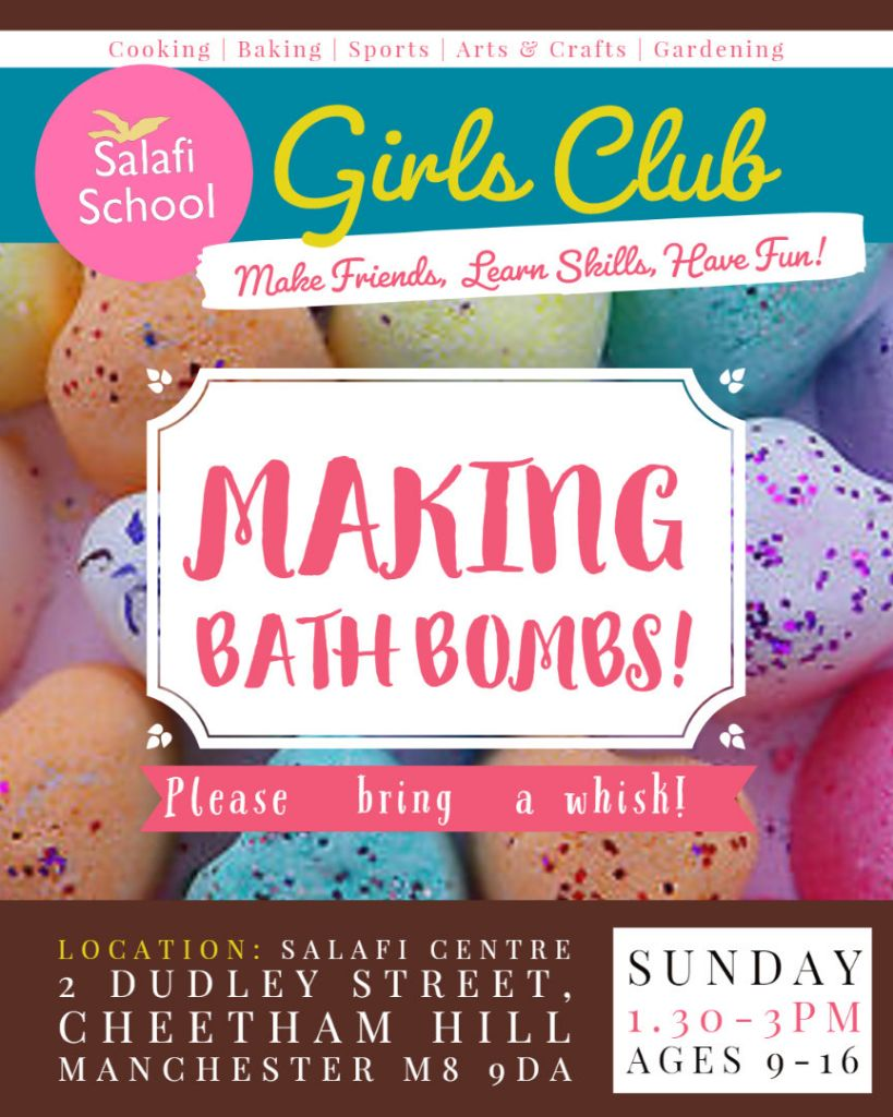 📢 Girls' Club On This Sunday!