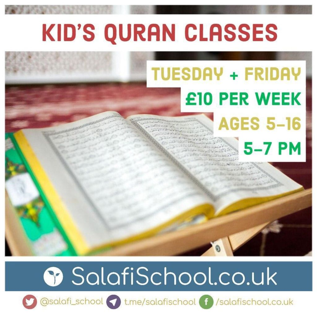 ONLINE Qur'an – Limited Spaces Available